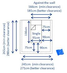 UK Single Bed Size and Space