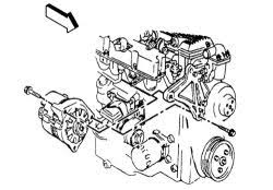 solved replacing the alternator fixya alternator mounting 2 2l engine replacing the alternator efa282c jpg