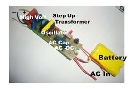 explain the working of the circuit of a mosquito zapper bat how explain the working of the circuit of a mosquito zapper bat how does the oscillator work which kind of oscillator is used for this purpose