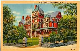 Located at 138 eagle street in albany, new york,. Vintage New York Postcard The Governor S Mansion Albany Etsy Vintage New York Mansions Postcard