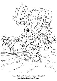Dragon Ball Z Kleurplaat Tv Series Kleurplaat Animaatjesnl