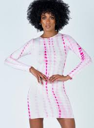 Sutton Mini Dress Pink