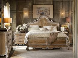 King Bedroom Furniture Hooker Furniture Bedroom Chatelet King Wood Panel Bed 5300 90266