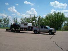 plenty of room for the jeep and the cer flatbed trailer trailers toy hauler