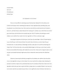 persuasive essay against gun control argumentative essay 1 gun control