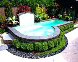 Pool Designs For Small Backyards Mesmerizing Small Yard Ideas Francuzova