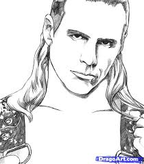 Matt Hardy Coloring Pages Color Bros