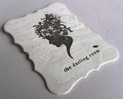 Leaf Business Cards Bracha Designs
