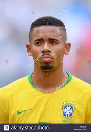 SAMARA, Russland - Juli 02: Gabriel Jesus von Brasilien bei der Fußball-WM  Russland 2018 Umlauf von 16 Match zwischen Brasilien und Mexiko in Samara  Arena am 2. Juli 2018 in Samara, Russland. (