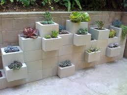 Small Picture Cinder Block Garden Wall Vertical Garden DonT Cramp Your Garden