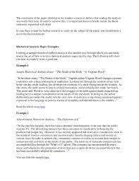 Example Of Rhetorical Analysis Essays Write A Good Thesis Statement For A Rhetorical Analysis Essay How