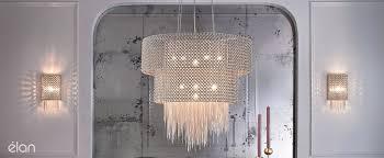 elan lighting contemporary crystal lighting