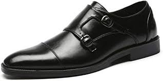Mens Dress Shoes Italian Fashion Double Monk ... - Amazon.com