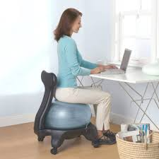 ility ball desk chair yoga exercises home designs in office size