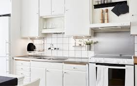 Ikea Design Ideas a kitchen is updated using simple space saving ideas without breaking the bank