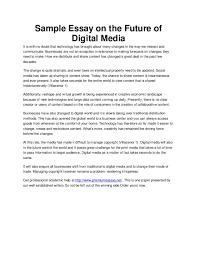 digital technology introduction essay sample essay technology  digital technology introduction essay sample essay technology gse bookbinder co com