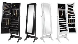 Mirrored Jewelry Cabinet Armoire Mirrored Jewelry Cabinet Armoire Sky1460 Youtube