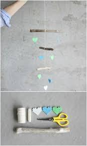 diy driftwood and bead crib mobile