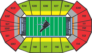 Sprint Center Detailed Seating Chart Group Tickets Kc Commandkc Command