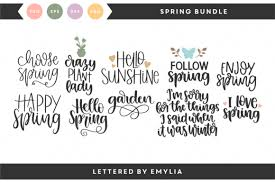 Typography love hand lettering quotes calligraphy quotes calligraphy letters brush lettering doodle quotes doodle fonts schrift design sketch you're walking through a field all by yourself one day in spring, and this sweet little bear cub with velvet fur and shiny little eyes comes walking along. Spring Svg Bundle In 2020 Spring Quotes Lettering Hand Lettering
