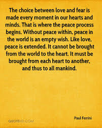 Love And Peace Quotes Inspiration Paul Ferrini Quotes QuoteHD