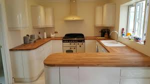 Wickes Kitchen Floor Tiles Wickes Sofia Kitchen With Solid Wood Worktop Designed By Ivan