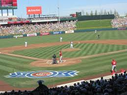 Cubs Park Mesa Az Seating Chart View From Behind Home Plate Picture Of Sloan Park Mesa