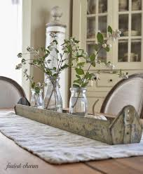 Everyday dining table decor Inexpensive via Faded Charm Tidbits Twine Dining Table Decor for An Everyday Look Tidbitstwine