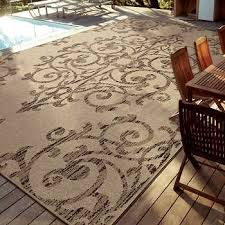 costco indoor outdoor rugs easy living rug 7 10 x 12 manor