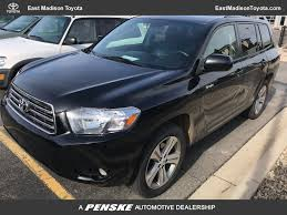 2008 Used Toyota Highlander 4WD 4dr Sport at East Madison Toyota ...