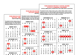 Year To Year Calendar Pages School Year Calendar 2018 2019