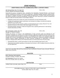 100+ [ Financial Resume Sample ]   Why This Is An Excellent Resume ...