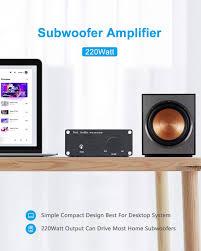 Fosi Audio TP-02 - Subwoofer Verstärker Mini Sub Bass Verstärker Digital  Class D Integrierter Subwoofer Verstärker TDA7498E 220Watt x1 : Amazon.de:  Elektronik & Foto
