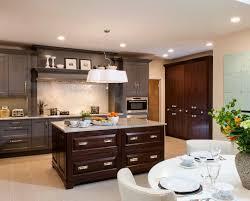... Square Grey Stained Wooden Dresser White Ceramic Brown Varnished Desk  Modern Design Kitchen Cabinet Color Trends ...