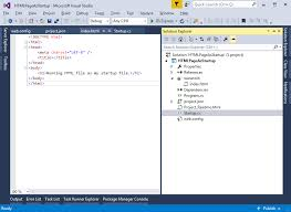 Make index.html as startup file in ASP.NET Core