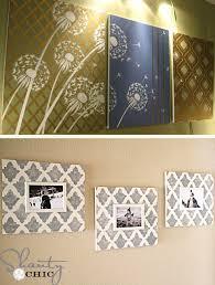 diy wall art home decor with stencils