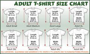 Animal Shirt Size Chart Environmentally Friendly Usa Cotton