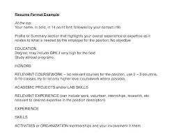 Resume Formates Mesmerizing Example Reference List Absolute Professional Co 48 A D Format Page