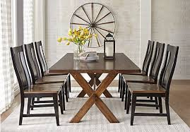 picture of twin lakes brown 5 pc 72 in rectangle dining room from dining room sets furniture