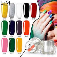 1 jar ibdgel brand 12 color uv painting gel nails polish good