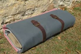 waterproof canvas picnic rug straps and buckles