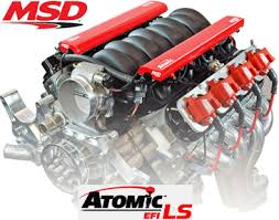 msd atomic efi for ls engines ecu harness marken performance atomic ls engine pic