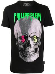 Philipp Plein <b>Футболка С Декором</b> Skull - Купить В Интернет ...
