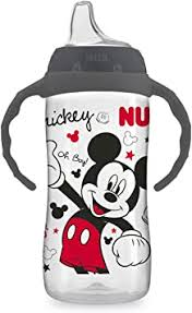 NUK <b>Disney</b> Mickey Mouse Large <b>Learner</b> Cup with Handles ...