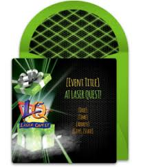 Free Laser Tag Invitation Template Free Laser Quest Online Invitations Punchbowl