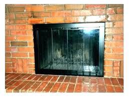 fireplace door replacement replacement fireplace glass door replacement handles