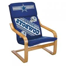dallas cowboys bentwood chair