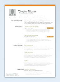 Word 2013 Resume Templates Classy Resume Templates Examples Great Ms Word Free Download Template