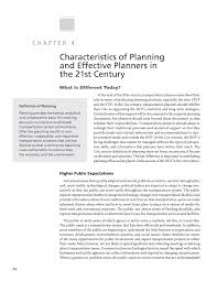 chapter characteristics of planning and effective planners in page 14