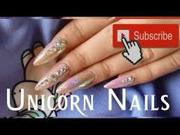 Návod Na Unicorn Aurora Třpytivé Nehty S Kamínky Pakvimnet Hd